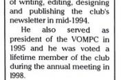 Retiring Editor