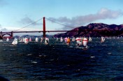 Racing in San Francisco Bay, Byron Robert Mayo