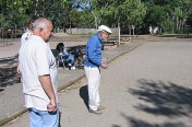 Friendly game of Petanque