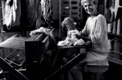 Mary at Her Loom