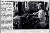 Mary Weaving in the News