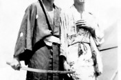 Tinian with Captured Sword
