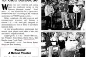 Sonoma Petanque Courts Barbecue Groundbreaking 1998
