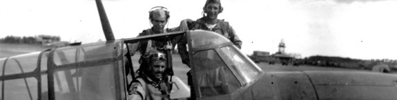 Byron's Flight Crew Ernest Linsmaier Reunites in Memories